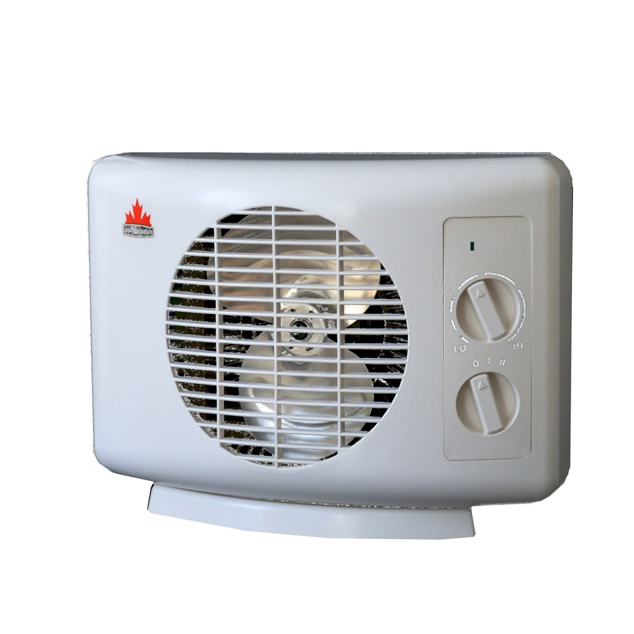 Seabreeze 5,120-BTU Compact Personal Electric Space Heater with Thermostat and Energy Saving Setting