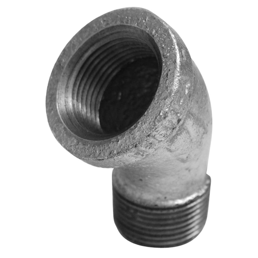 Mueller Proline 1/2-in dia 45-Degree Galvanized Street Elbow Fittings