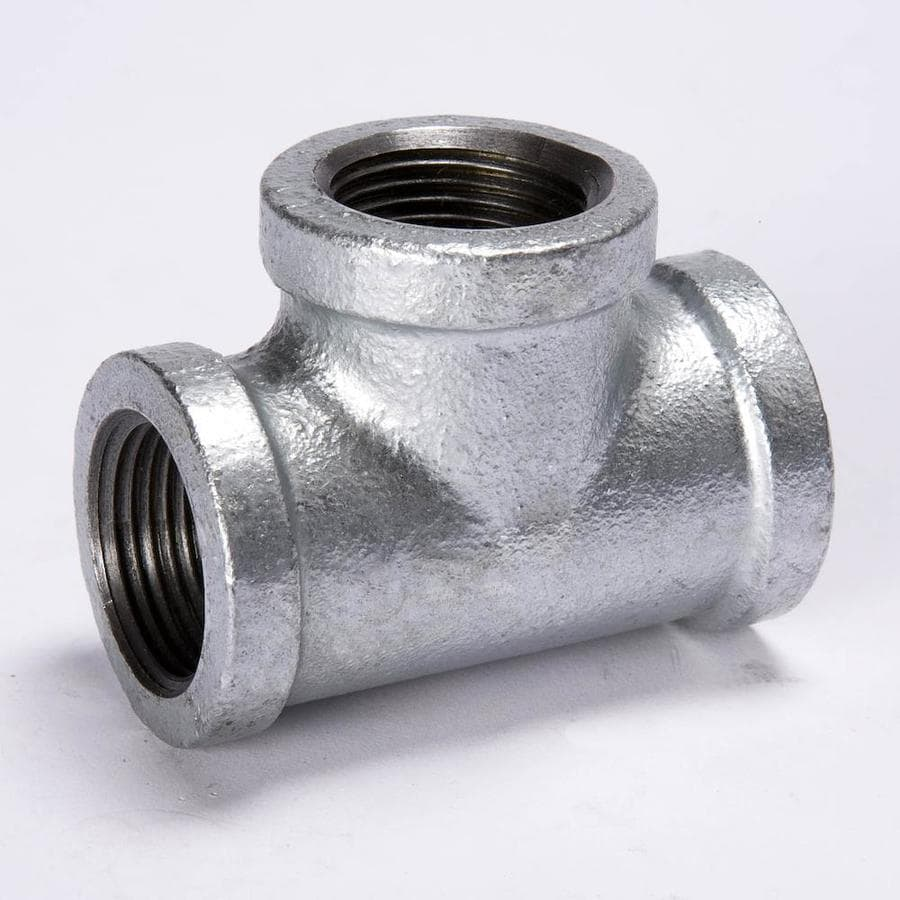 B&K 1/4-in dia Galvanized Tee Fittings