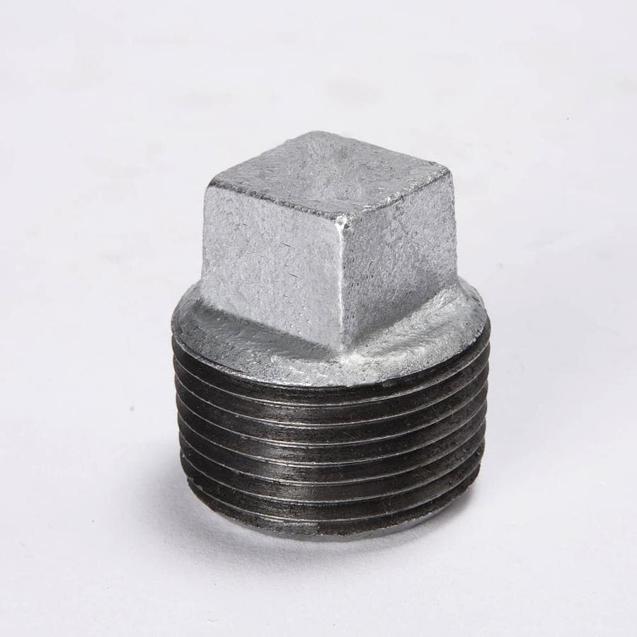 B&K 1/4-in dia Galvanized Plug Fittings