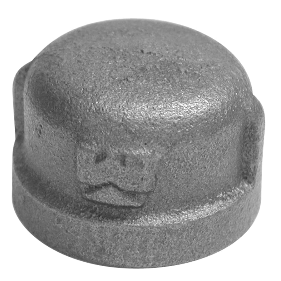 Mueller Proline 1-1/4-in Dia Galvanized Cap Fittings