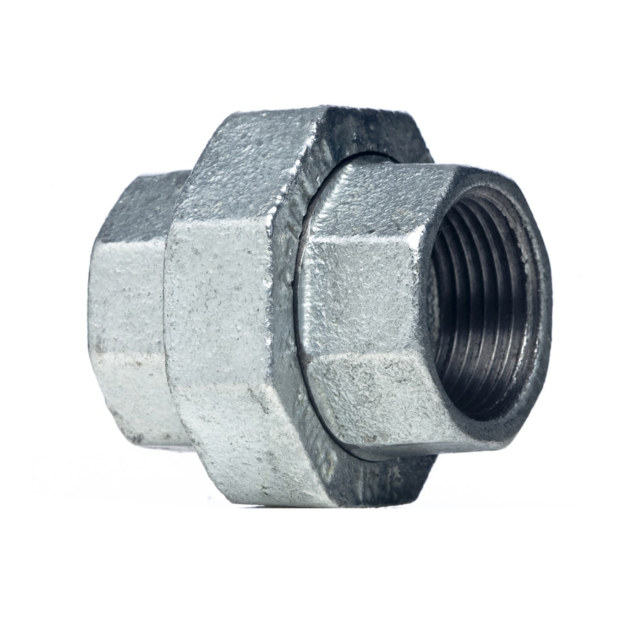 Shop mueller proline in dia galvanized union fittings at