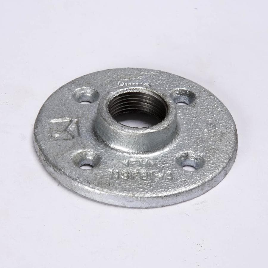 Mueller Proline 2-in Dia Galvanized Floor Flange Fitting