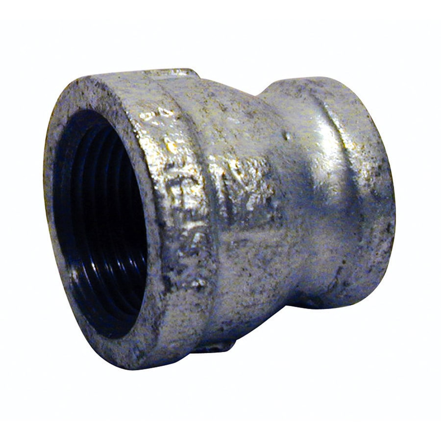 Mueller Proline 1-in x 1/2-in Dia Galvanized Coupling Fittings