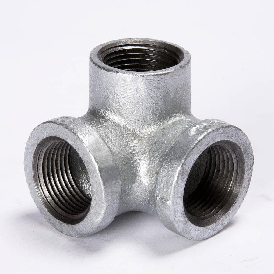 Shop b k in dia galvanized elbow fittings at lowes