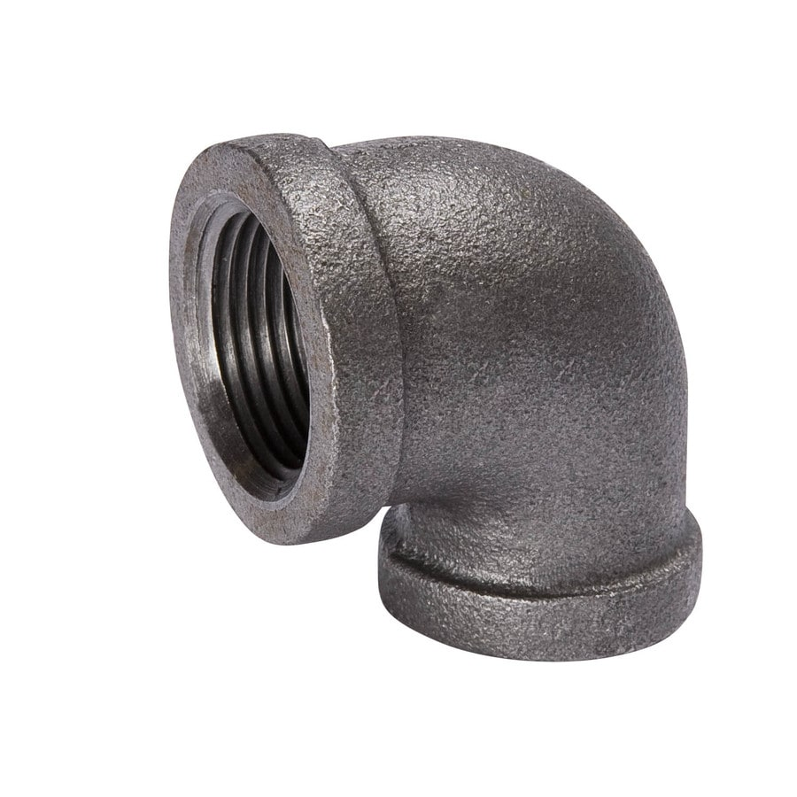 B&K 1/4-in dia 90-Degree Black Iron Elbow Fitting