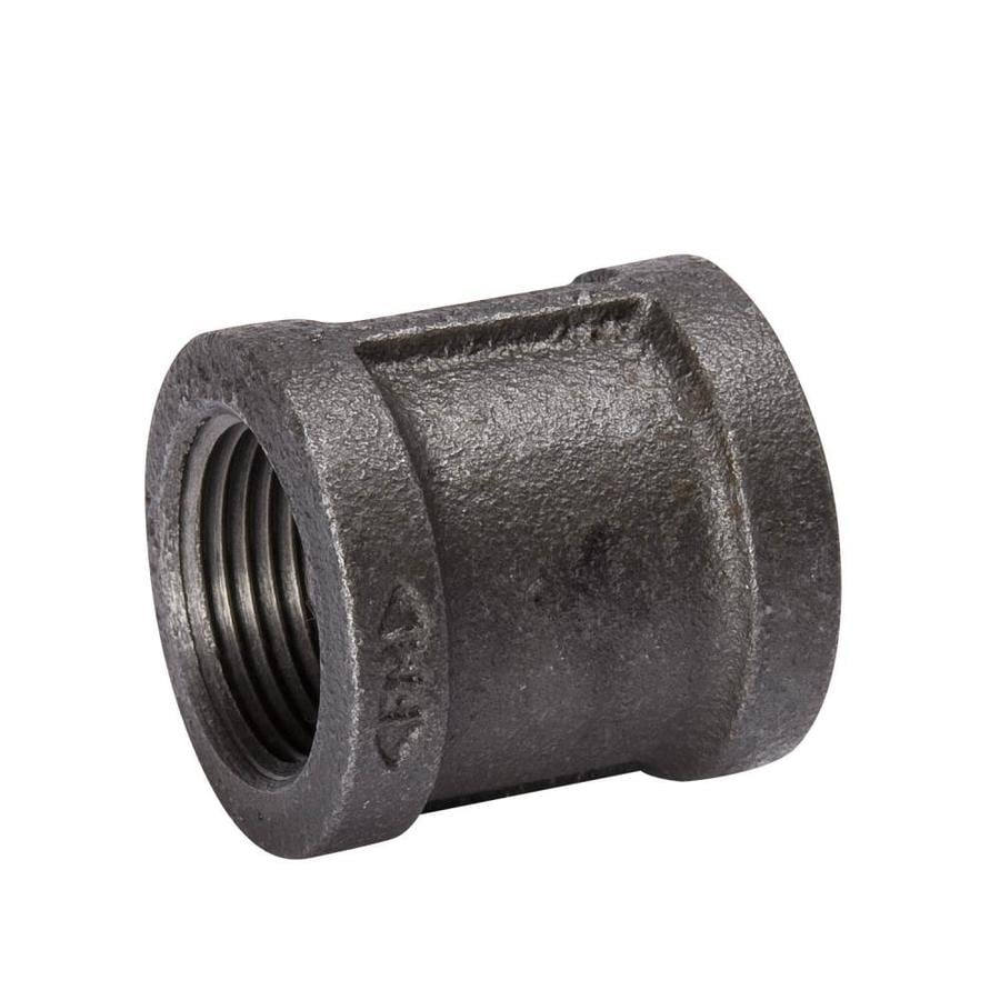 B&K 1/4-in dia Black Iron Coupling Fitting