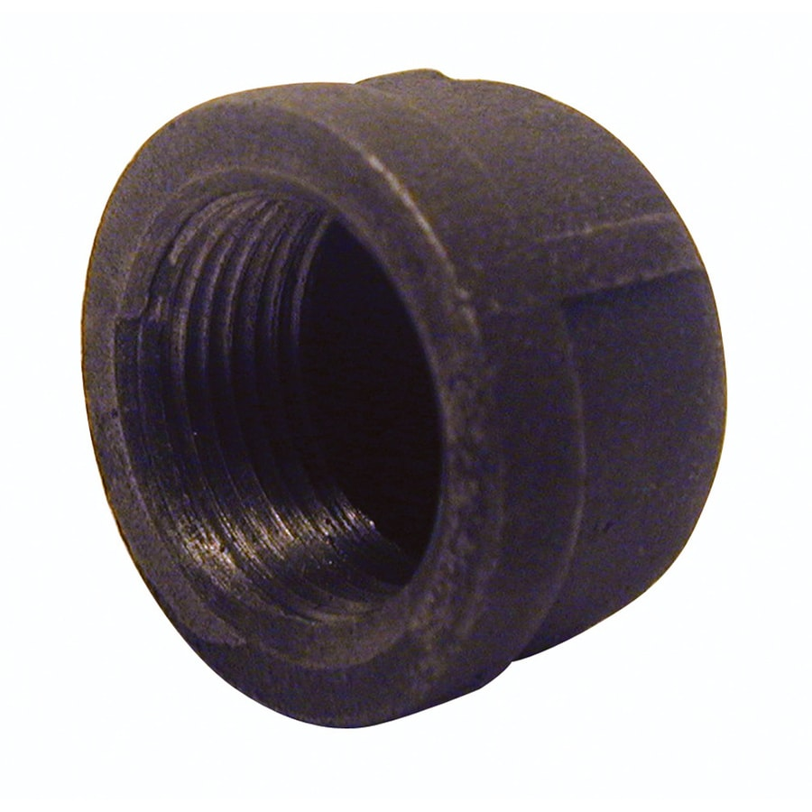 Mueller Proline 3/8-in dia Black Iron Cap Fitting