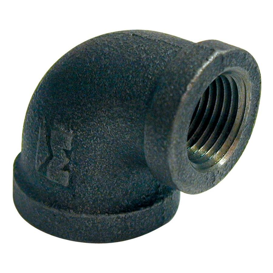 Mueller Proline 3/4-in x 1/2-in Dia 90 Black Iron Elbow Fitting