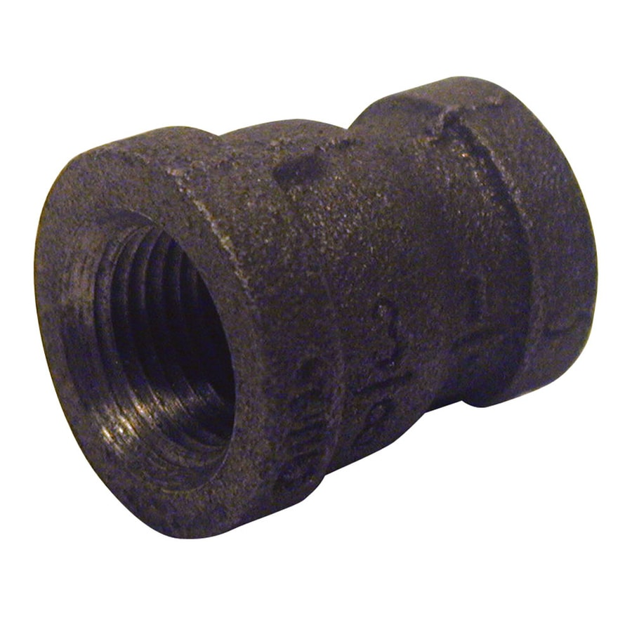 Mueller Proline 3/8-in dia Black Iron Coupling Fitting