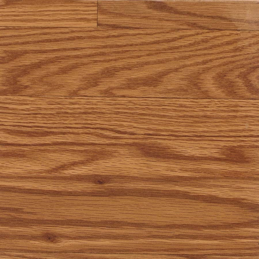 Shop Allen + Roth Gunstock Oak Wood Planks Laminate