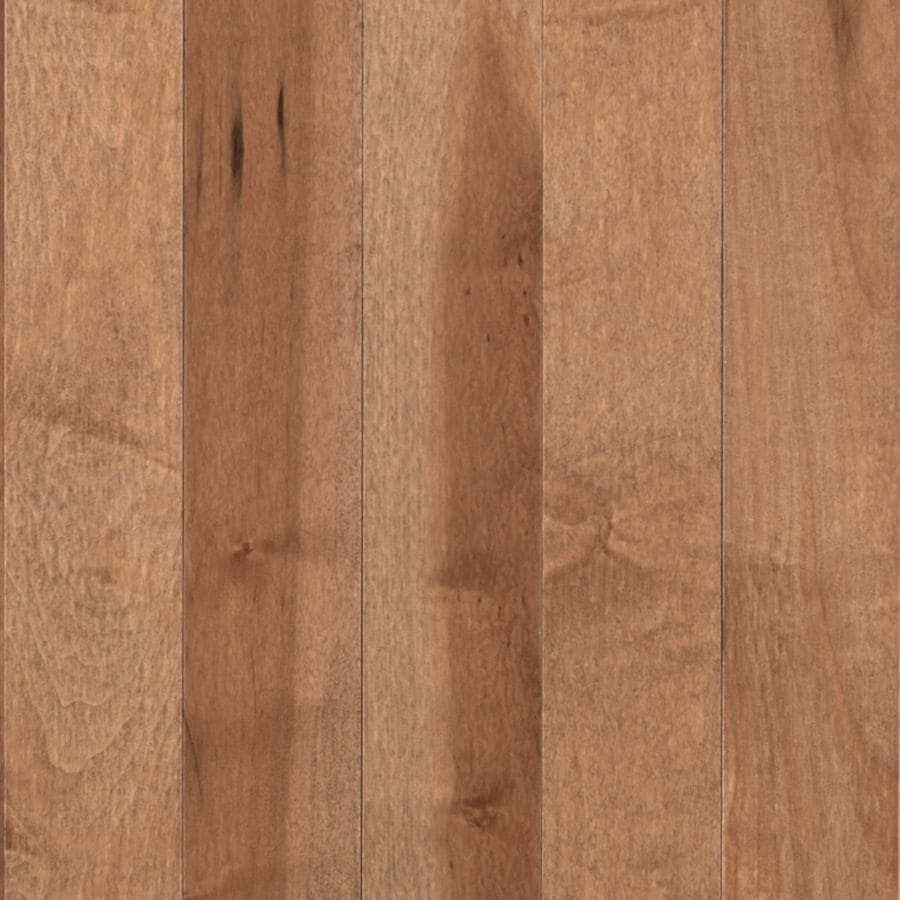 Shop mohawk vanilla maple solid hardwood flooring for Maple flooring