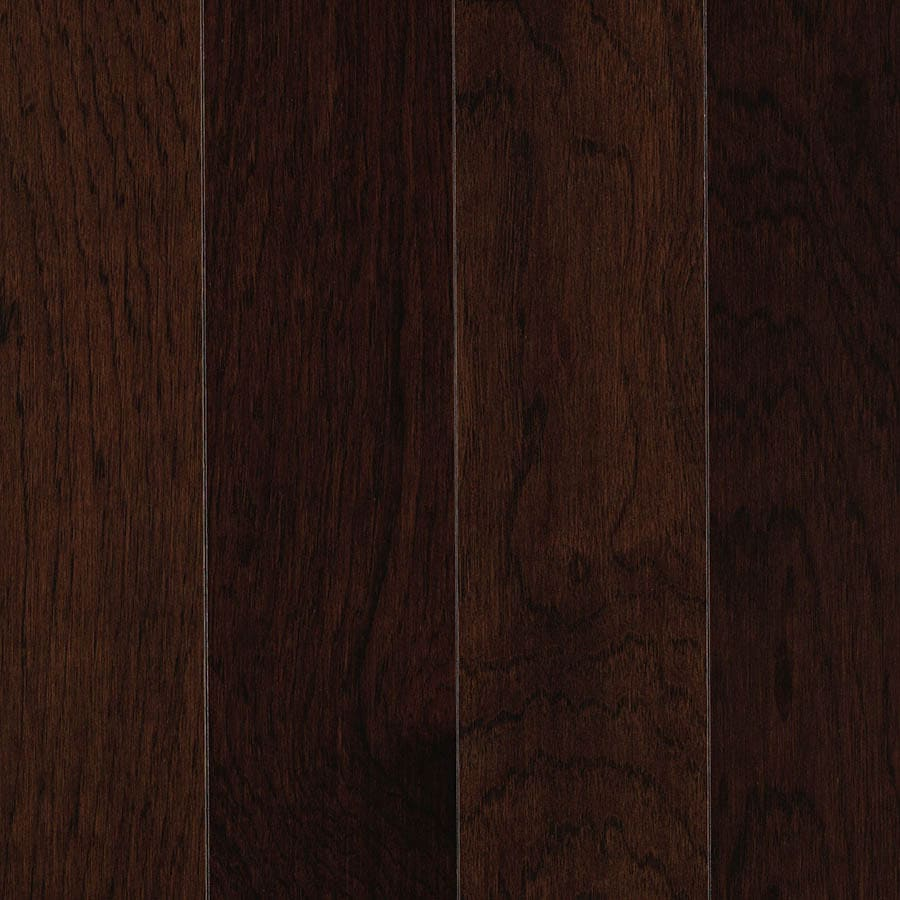 allen + roth 0.75-in Hickory Hardwood Flooring Sample (Leather)
