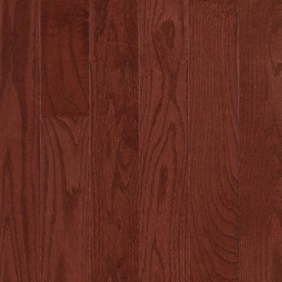 allen + roth 0.75-in Oak Hardwood Flooring Sample (Cherry)