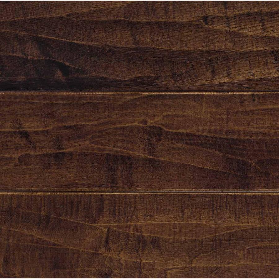 Mohawk Pienza 5-in Dark Auburn Maple Hardwood Flooring (19.69-sq ft)