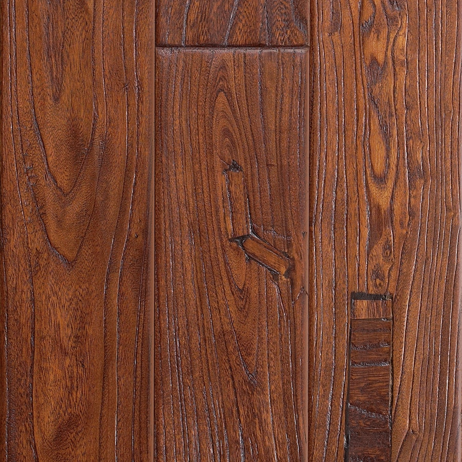 Shop mohawk montefino 5 in w prefinished elm engineered for Pre finished hardwood floors
