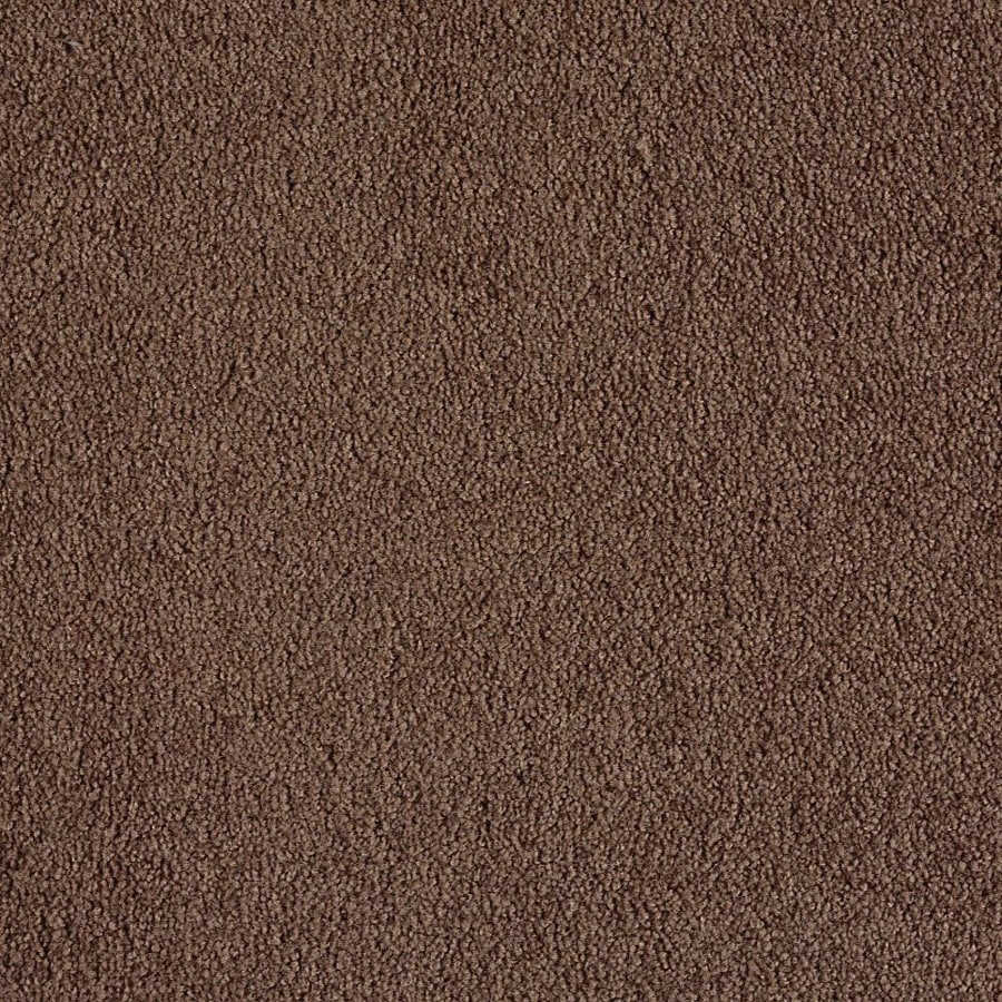 Green Living Logger Brown Textured Indoor Carpet