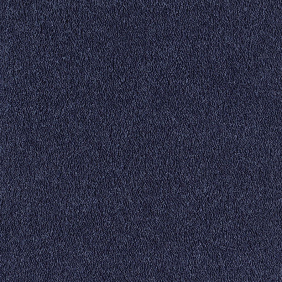 Green Living Blue Eclipse Textured Indoor Carpet