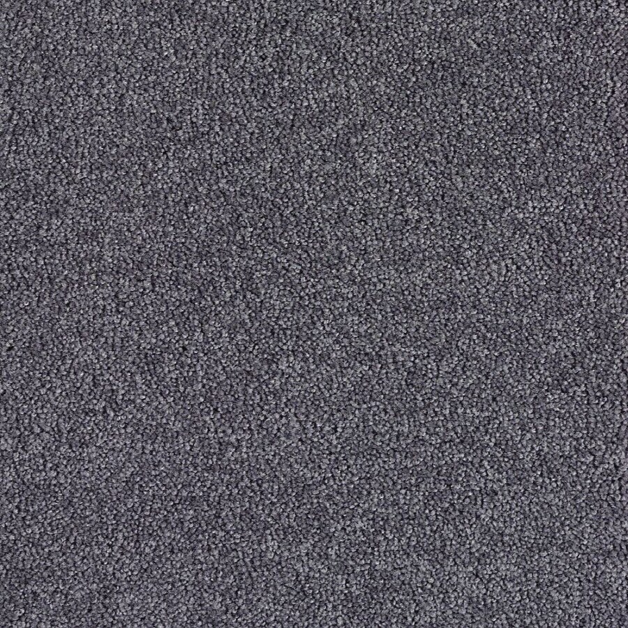 Shop Green Living Aspen Grey Textured Indoor Carpet At