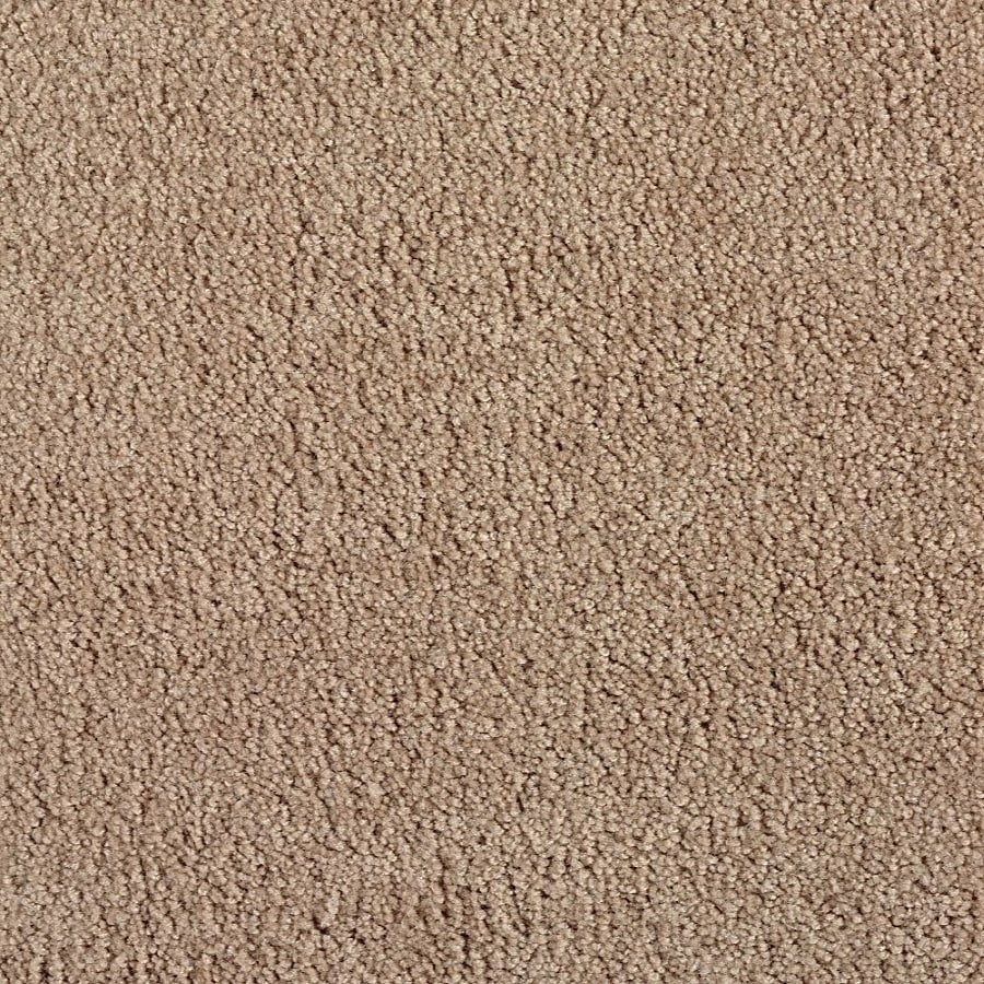 Green Living Warm Apricot Textured Indoor Carpet