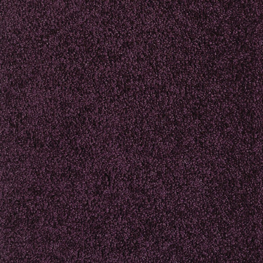 Green Living Eggplant Textured Indoor Carpet
