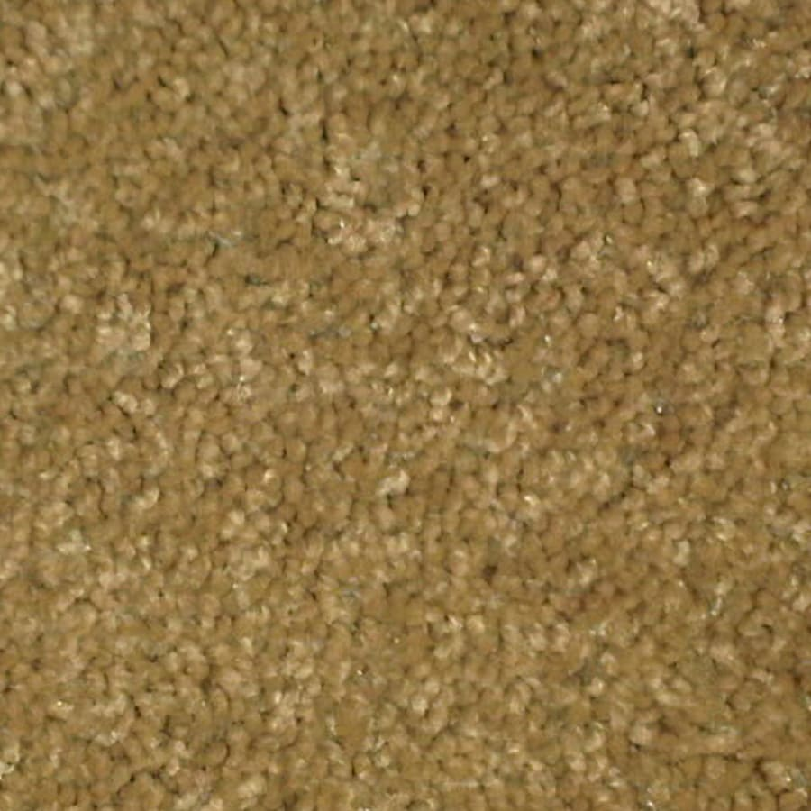 Stock Carpet 15-ft W x Cut-to-Length Warm Buff Textured Interior Carpet