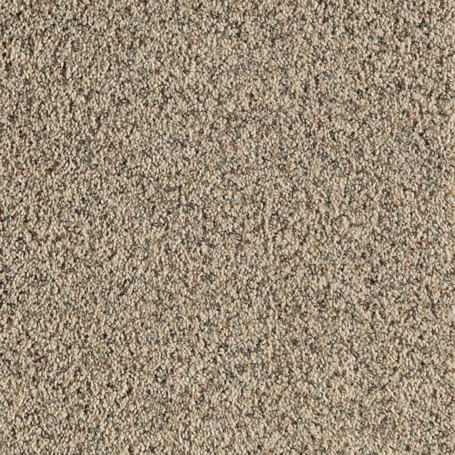 Feature Buy 12-ft W x Cut-to-Length Chamois Textured Interior Carpet