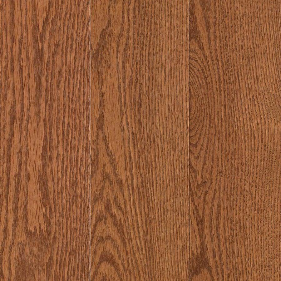 allen + roth 3.25-in W Prefinished Oak Locking Hardwood Flooring (Gunstock)