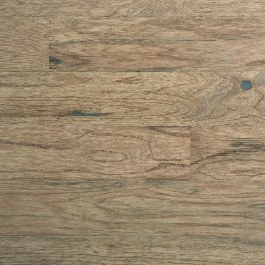 Mohawk Highmore 5.36-in W Prefinished Oak Locking Hardwood Flooring (Driftwood)