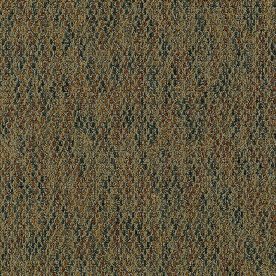 Mohawk 18-Pack 24-in x 24-in Bach Textured Glue-Down Carpet Tile