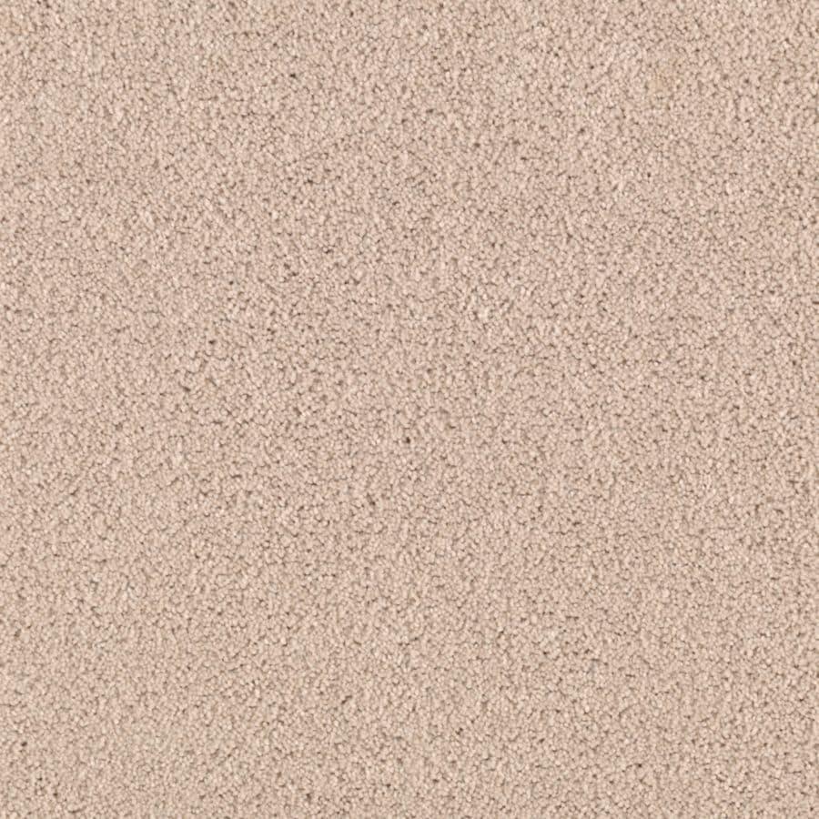 Shop Mohawk Essentials Cherish Egg Shell Textured Interior Carpet at Lowes.com