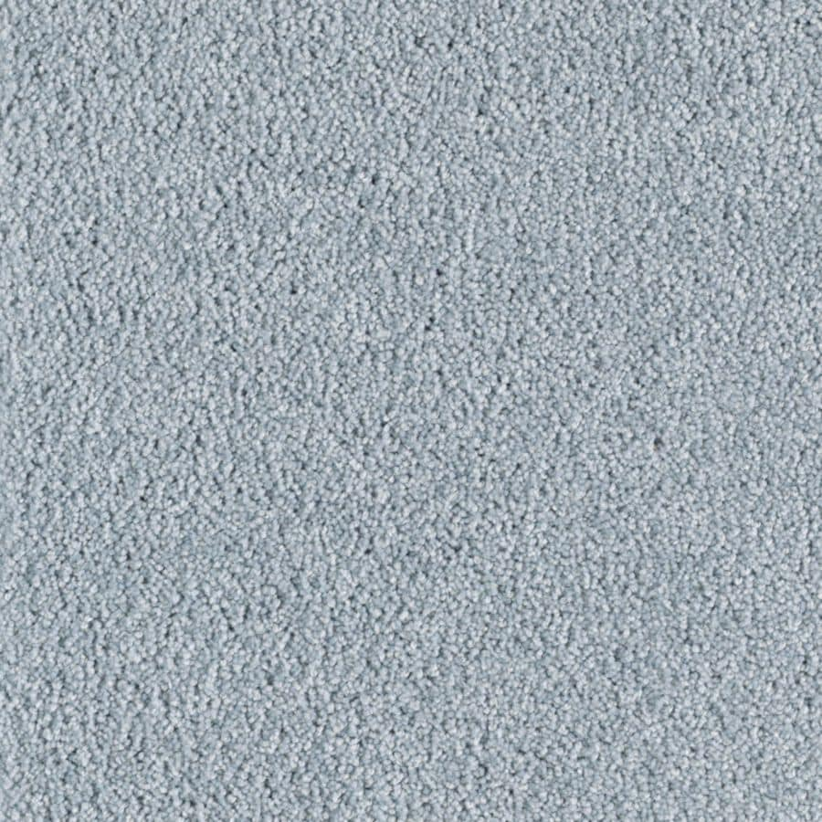 Mohawk Essentials Cherish Powder Blue Textured Indoor Carpet