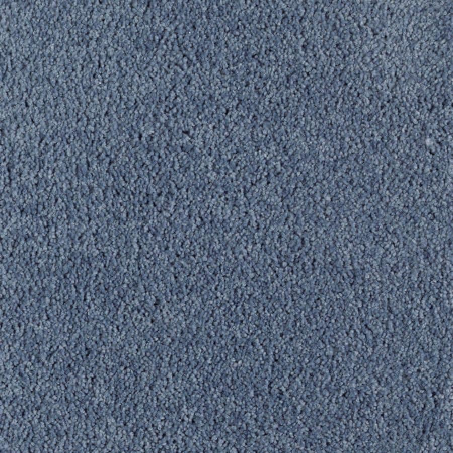 Mohawk Essentials Herron Bay Marina Blue Textured Indoor Carpet