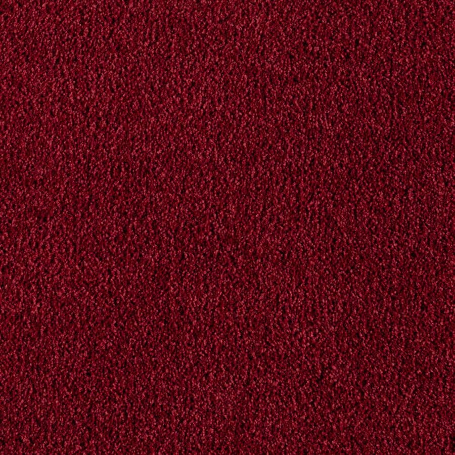 Mohawk Essentials Herron Bay Burgundy Textured Indoor Carpet