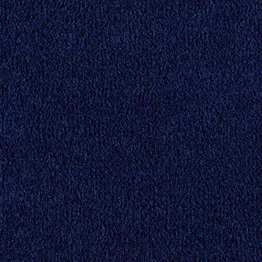 Mohawk Essentials Herron Bay Rich Denim Textured Indoor Carpet