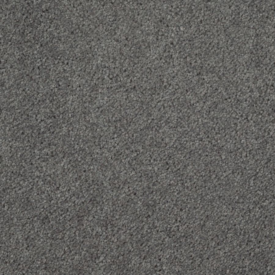 Mohawk Essentials Sea Bright Pewter Grey Textured Indoor Carpet