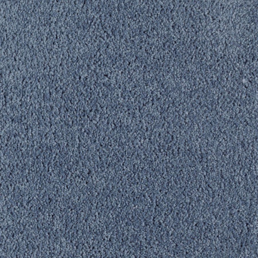Mohawk Essentials Sea Bright Marina Blue Textured Indoor Carpet