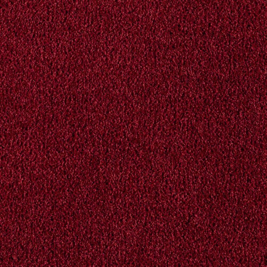 Mohawk Essentials Sea Bright Burgundy Textured Indoor Carpet