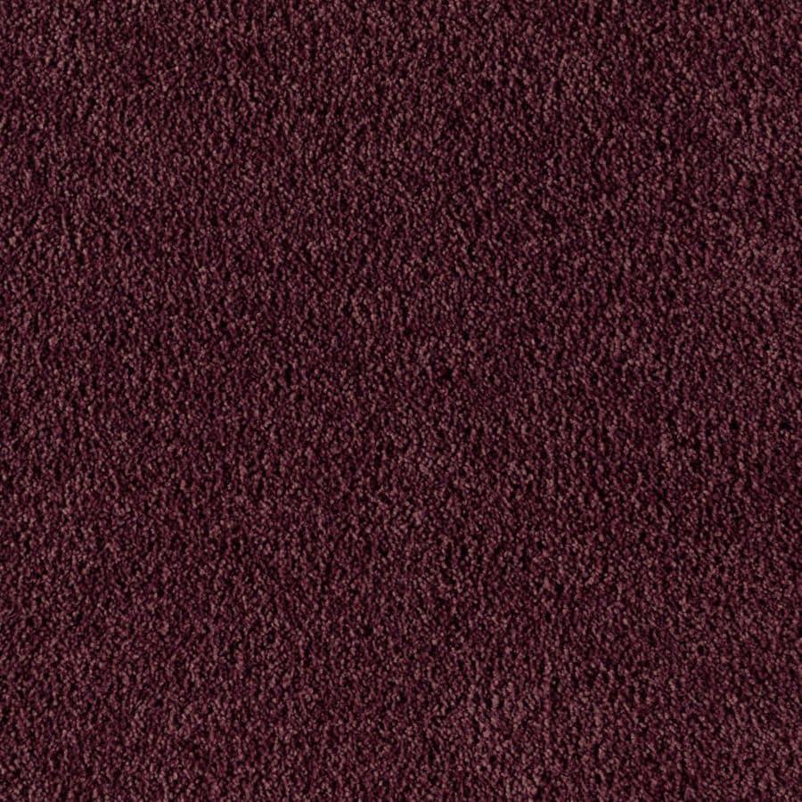 Shop mohawk essentials sea bright dark plum textured for Light purple carpet