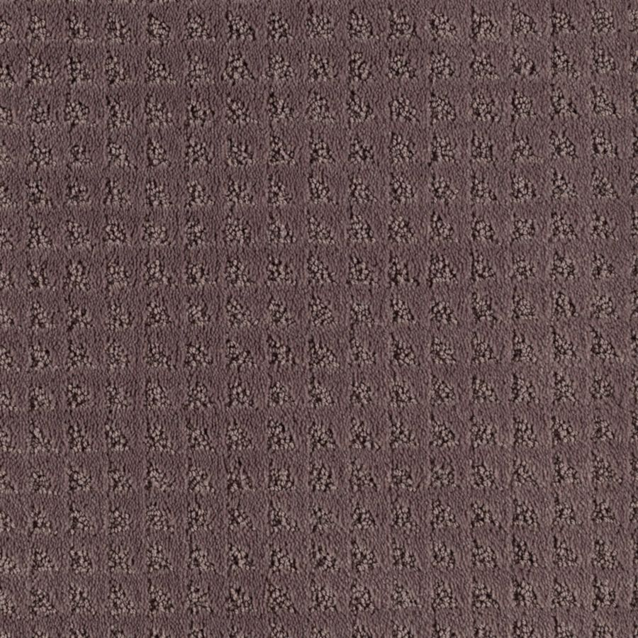 Mohawk Cornerstone Collection 12-ft W x Cut-to-Length Grape Mist Textured Interior Carpet