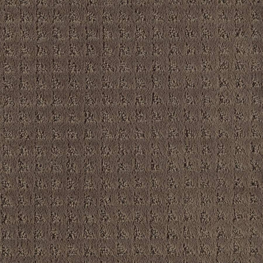 Mohawk Cornerstone Collection 12-ft W x Cut-to-Length Raisin Textured Interior Carpet