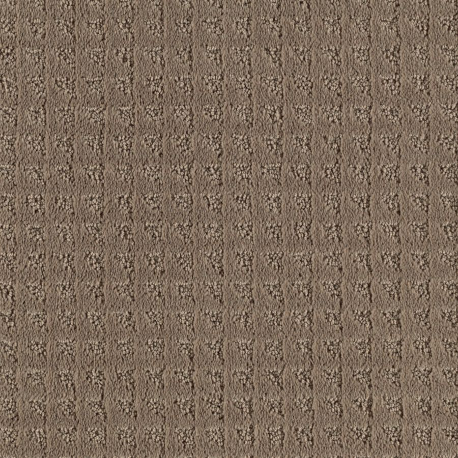 Mohawk Cornerstone Cornerstone Collection 12-ft W x Cut-to-Length Malted Milk Textured Interior Carpet