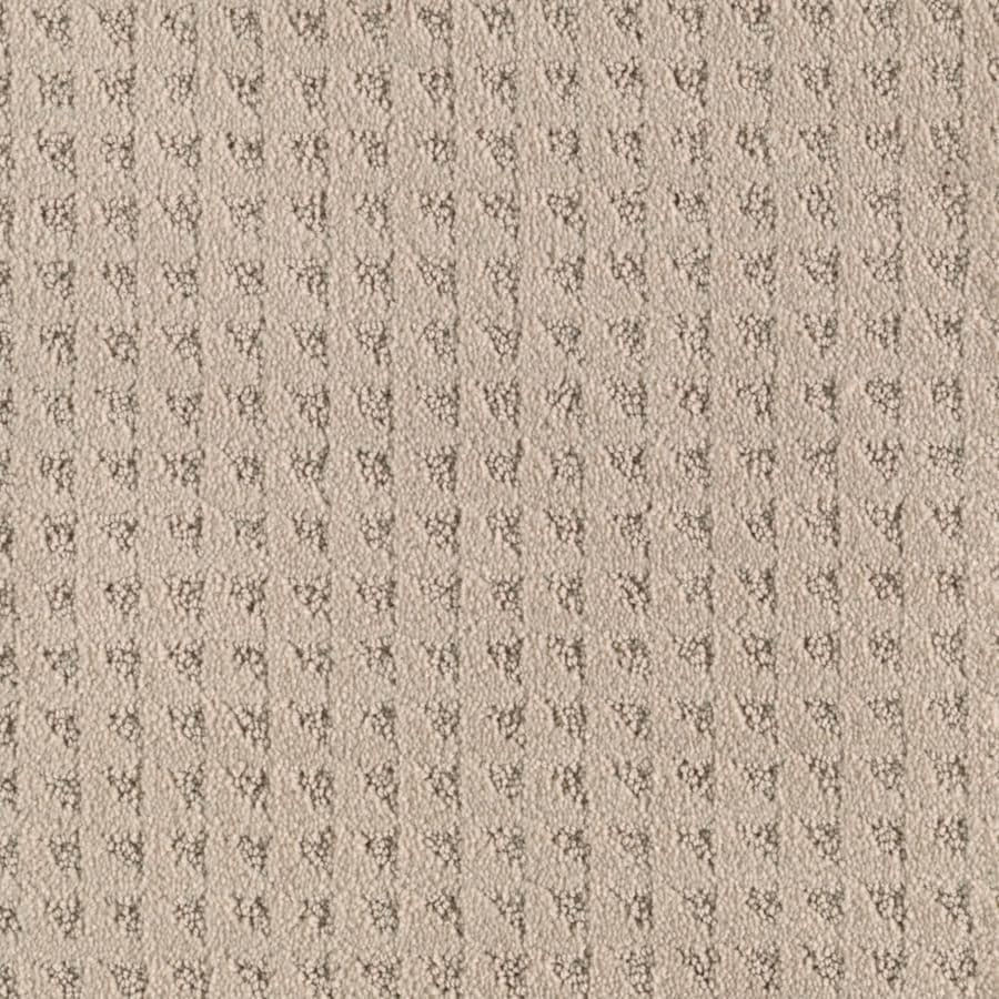 Mohawk Cornerstone Collection 12-ft W x Cut-to-Length Gulf Sand Textured Interior Carpet