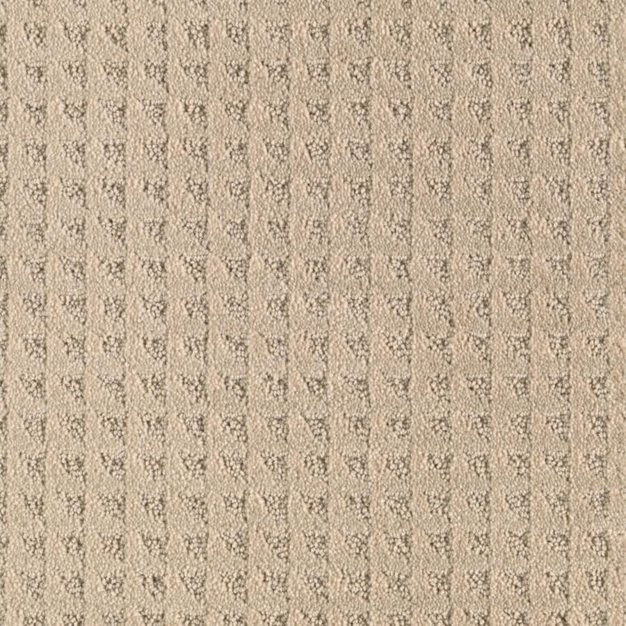 Mohawk Cornerstone Collection Butter Pecan Textured Interior Carpet