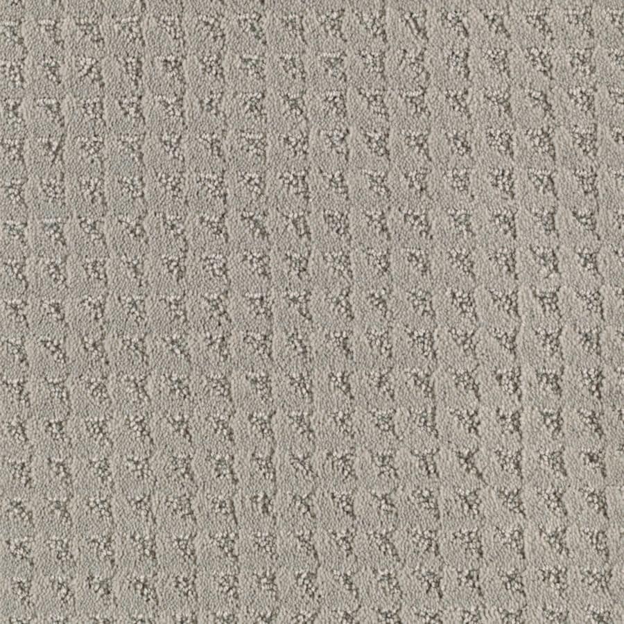 Mohawk Cornerstone Cornerstone Collection 12-ft W x Cut-to-Length Moonbeam Textured Interior Carpet