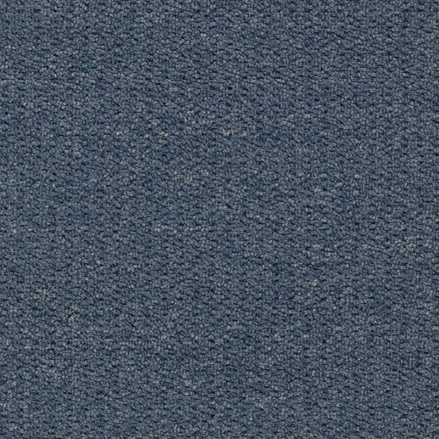 Mohawk Interpret Blue Jean Textured Indoor Carpet