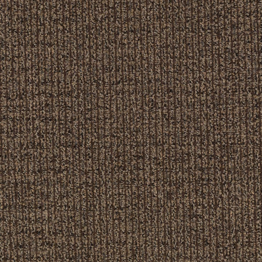 Mohawk Interpret 12-ft W x Cut-to-Length Dark Roast Textured Interior Carpet