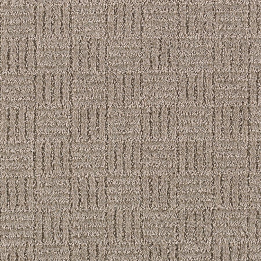 Mohawk Essentials Stylesboro 12-ft W x Cut-to-Length Stardust Textured Interior Carpet