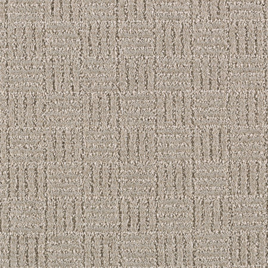 Mohawk Essentials Stylesboro 12-ft W x Cut-to-Length Glacier Textured Interior Carpet