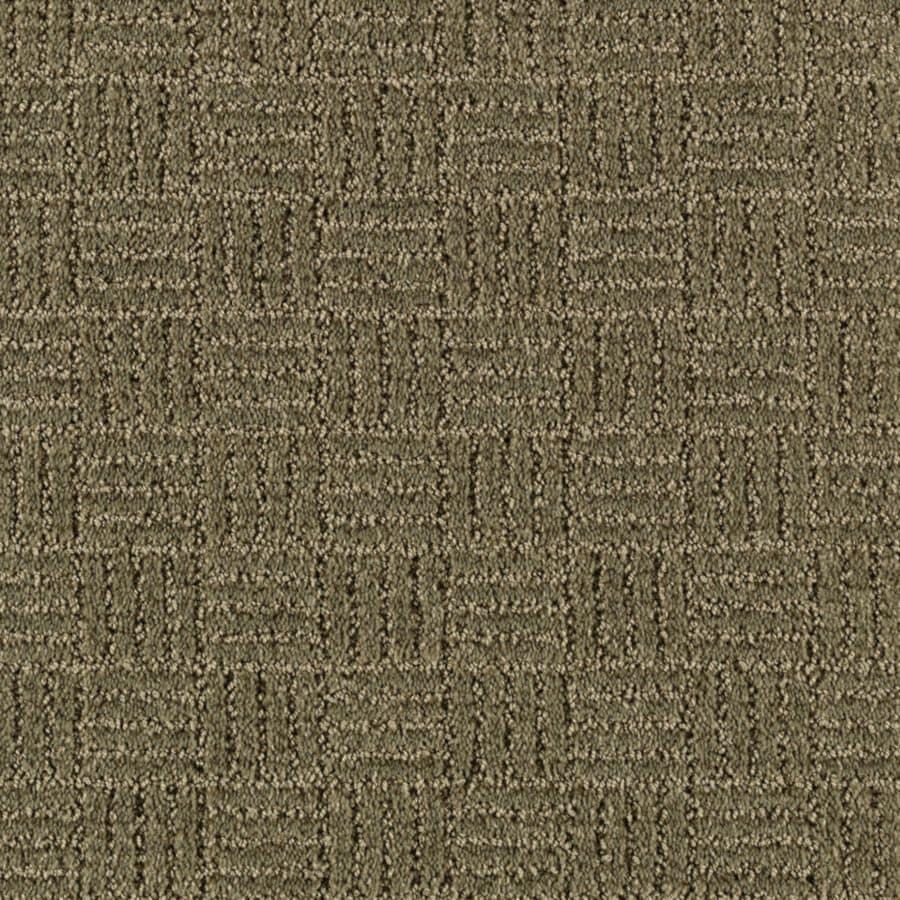 Mohawk Essentials Stylesboro 12-ft W Parsley Textured Interior Carpet